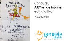 """Concursul """"ARTfel de Istorie"""", ediția a II-a"""