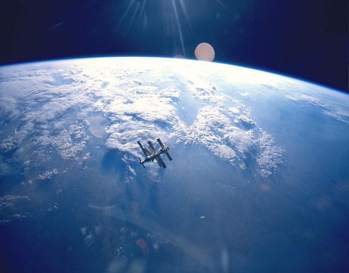 MIR vazuta din ATLANTIS in STS 71