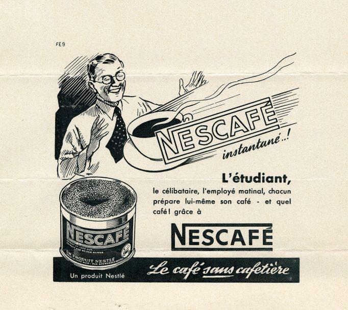 Ad Nescafe 1938