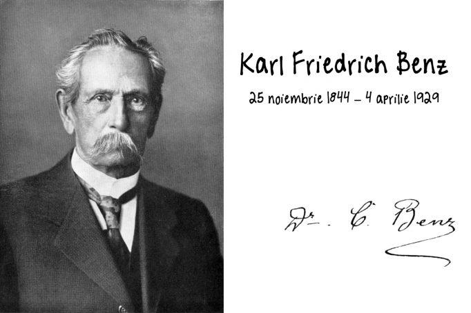 Karl Benz automobil educatie