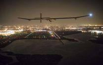 6 iulie 2013: Primul zbor care a traversat Statele Unite alimentat doar cu energie solară