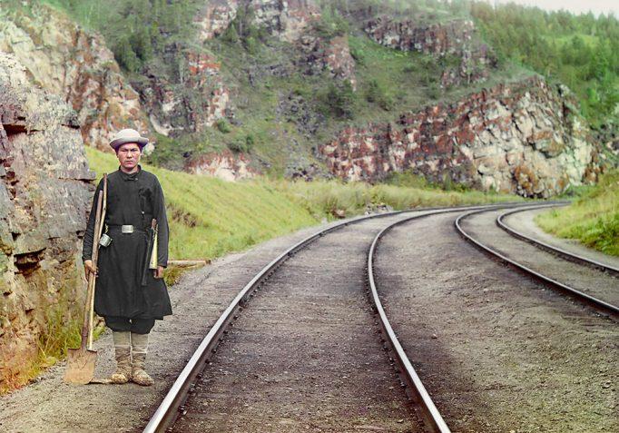 paza la trans siberian 1910