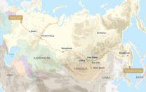 21 iulie 1904: Au fost finalizate lucrările la Transsiberian