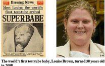 """25 iulie 1978: Se naște primul copil conceput """"în eprubetă"""""""