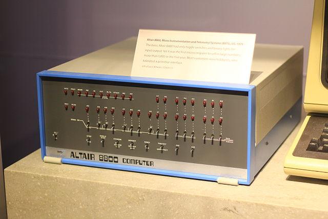 MITS micro computer