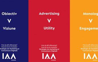 Școala IAA de Marketing și Comunicare a deschis înscrierile pentru o nouă serie de cursanți