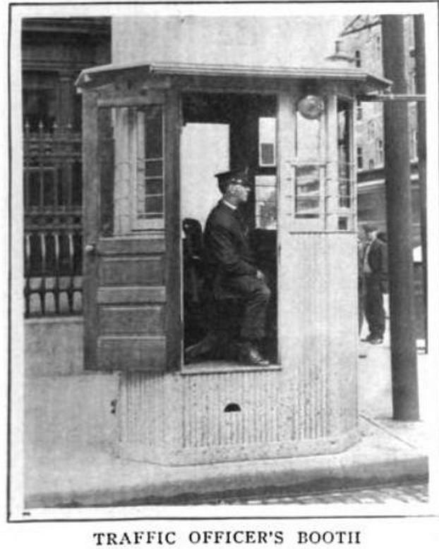 cabina politist semafor