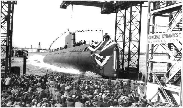 lansare la apa US Nautilus