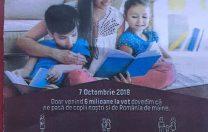 Materiale de propagandă pentru Referendumul din 6-7 octombrie, răspândite în școli publice
