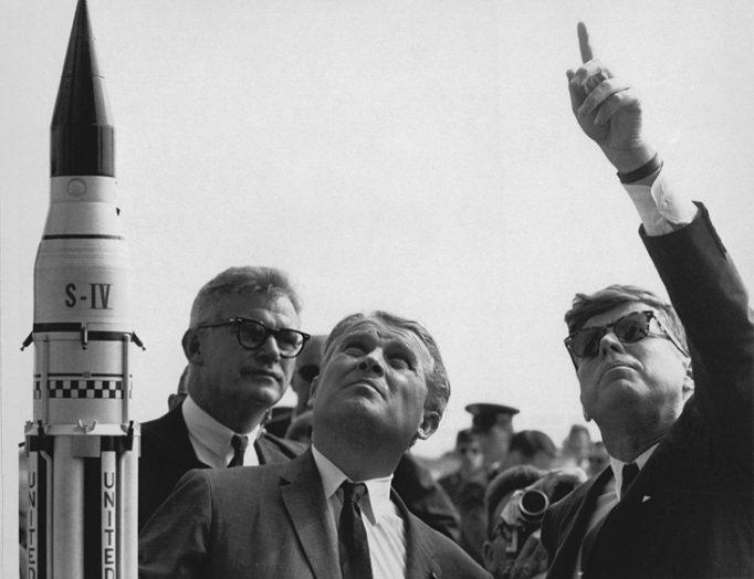 JFK discurs spațiu