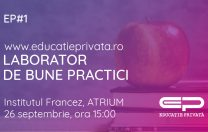 Primul eveniment Educație Privată, la Bucharest Science Festival