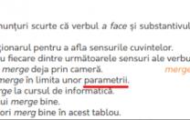 """Manualul de limba română, ieșit și el din """"parametrii"""""""