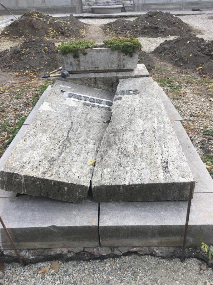 mormântul Victor Babeș