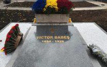 Mormântul lui Victor Babeș, refăcut de MApN