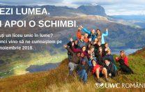 Te interesează o bursă în străinătate? Vino la UWC Info Day 2018!