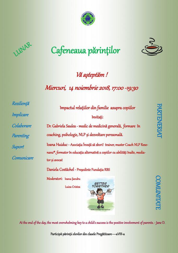 Cafeneaua părinților