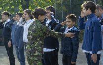 """Liceul Teoretic Național a acordat Bursa """"Centenarul Marii Uniri"""" copilului unui militar rănit în Afganistan"""