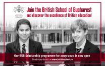 British School of Bucharest a deschis programul de burse pentru anul academic 2019-2020