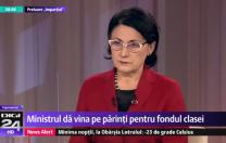 Ecaterina Andronescu, la Digi 24: Fondul clasei este o chestiune ilegală