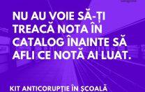 Kit Anticorupție în Școală: campania elevilor din Timiș care vor să schimbe Educația
