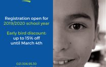 ISB offers 15% discount for full payment of the school fees by 4th March 2019