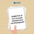 Protestul #foaiagoală continuă și la simularea de bacalaureat