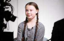 """Adolescenta care le-a spus liderilor de la Davos că """"ne-a luat foc casa"""", nominalizată la Premiul Nobel"""