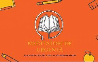 CJE Mehedinți lansează proiectul #MeditatoriDeUrgență: meditații gratuite pentru elevii din clasa a VIII-a