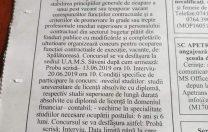 Anunț neobișnuit: Spitalul orășenesc Săveni cere studii universitare pentru postul de spălătoreasă