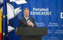 """Klaus Iohannis: """"Cei care conduc instituțional destinele Educației se pricep ca la meteo"""""""
