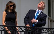 """Gafă antologică a președintelui SUA, Donald Trump: """"Luna face parte din planeta Marte"""""""