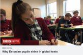 BBC: De ce elevii din Estonia strălucesc la testele PISA