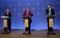 Premierul Norvegiei a ținut o conferință de presă despre COVID-19, exclusiv pentru copii