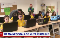 La Kids Palace, școala s-a mutat în online!