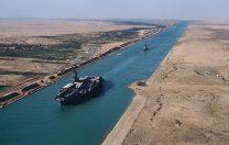 Construcția Canalului Suez