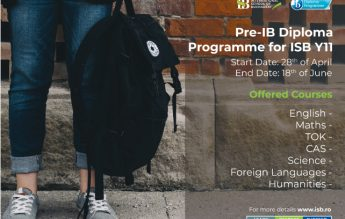 ISB lansează Programul Pre-Bacalaureat Internațional