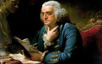 23 mai 1870: Bejamin Franklin inventează lentila bifocală