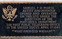 24 mai 1843: Primul mesaj în cod MORSE transmis prin telegraf