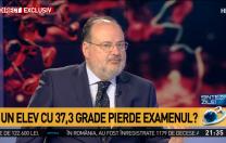 Horațiu Moldovan, secretar de stat: În principiu, un copil bolnav nu poate da examen