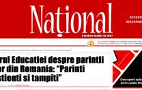 """Declarație falsă atribuită Ministrului Educației, în ziarul Național. Anisie: """"Nici măcar un cuvânt nu e adevărat!"""""""
