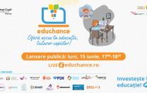 Se lansează Educhance, alianța de ONG-uri care doresc să ofere acces la educație fiecărui copil