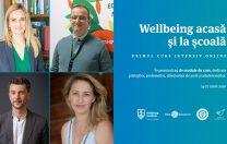 """Wellbeing acasă și la școală"""": primul curs intensiv online"""