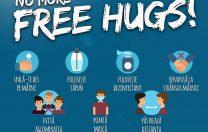 Campanie pentru păstrarea distanțării sociale în Vama Veche și 2 Mai: NO MORE FREE HUGS!