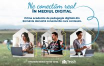 Teach for Romania anunță prima academie de pedagogie digitală din România