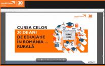 Bilanț  World Vision România: 30 de ani de educație, aproape 30 de miniștri, peste 330.000 de elevi care învață în școli nepotrivite