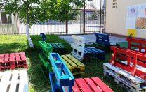 O școală din Sibiu se pregătește pentru cursuri în aer liber, din toamnă
