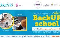 BackUP School: Seminarul care te va pregăti pentru școala online!