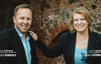 Elena Lotrean și Radu Szekely, fondatorii Școlii Finlandeze din Sibiu, candidează în alegerile locale