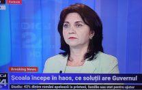Monica Anisie anunță un nou ROFUIP, cu mai multă descentralizare, adaptat la pandemie