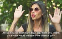 """Mama din Israel care era scandalizată de educația online și-a schimbat opinia: """"Ce m-aș fi făcut fără tine?"""""""